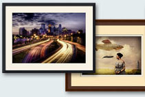 framed art prints & posters
